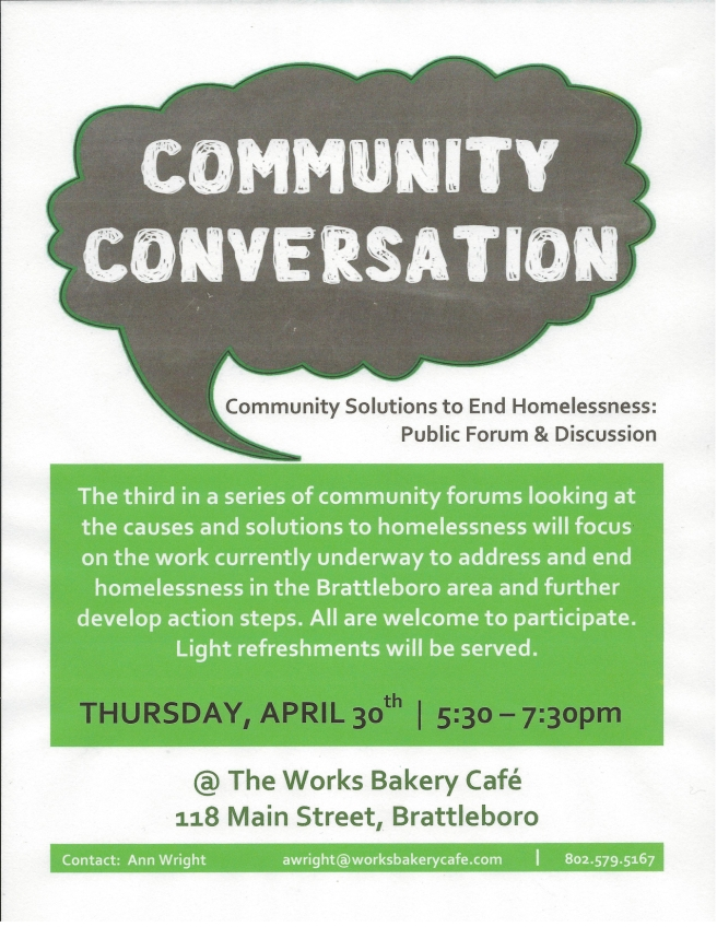 Homelessness-Community Conversation 042315