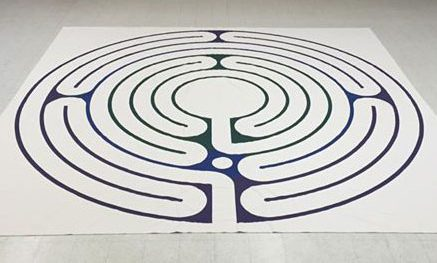 Circle of peace labyrinth