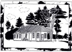 Putney Friends Meetinghouse drawing