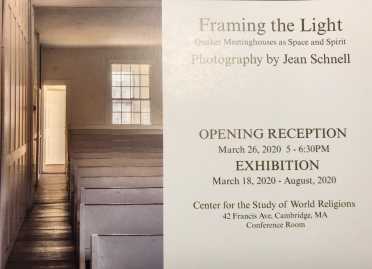 Jean Schnell, Exhibition invitation