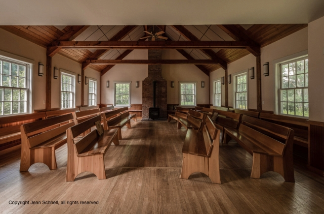 Putney Friends Meetinghouse Worship Space