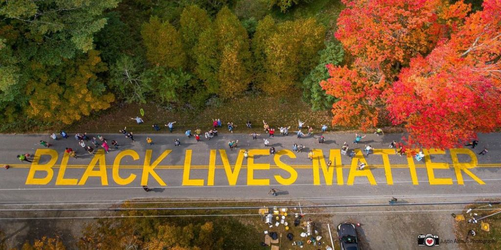 Black Lives Matter, Putney, Vermont.